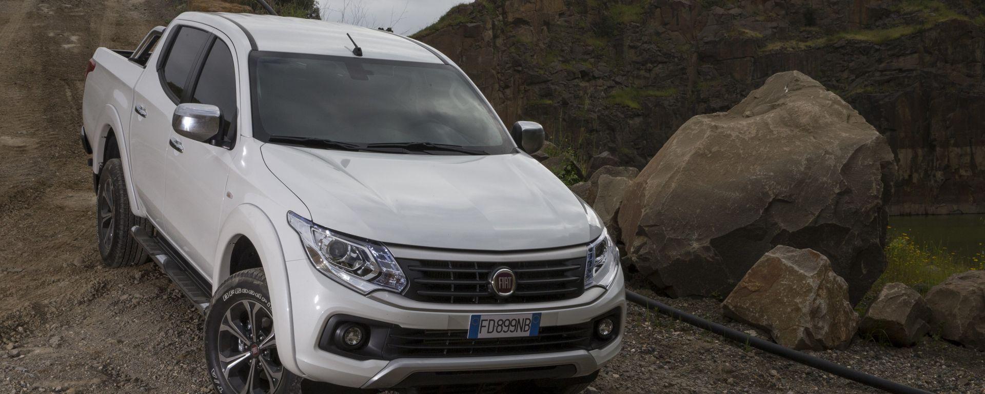 Fiat Fullback: com'è, quando arriva, quanto costa il pickup Fiat