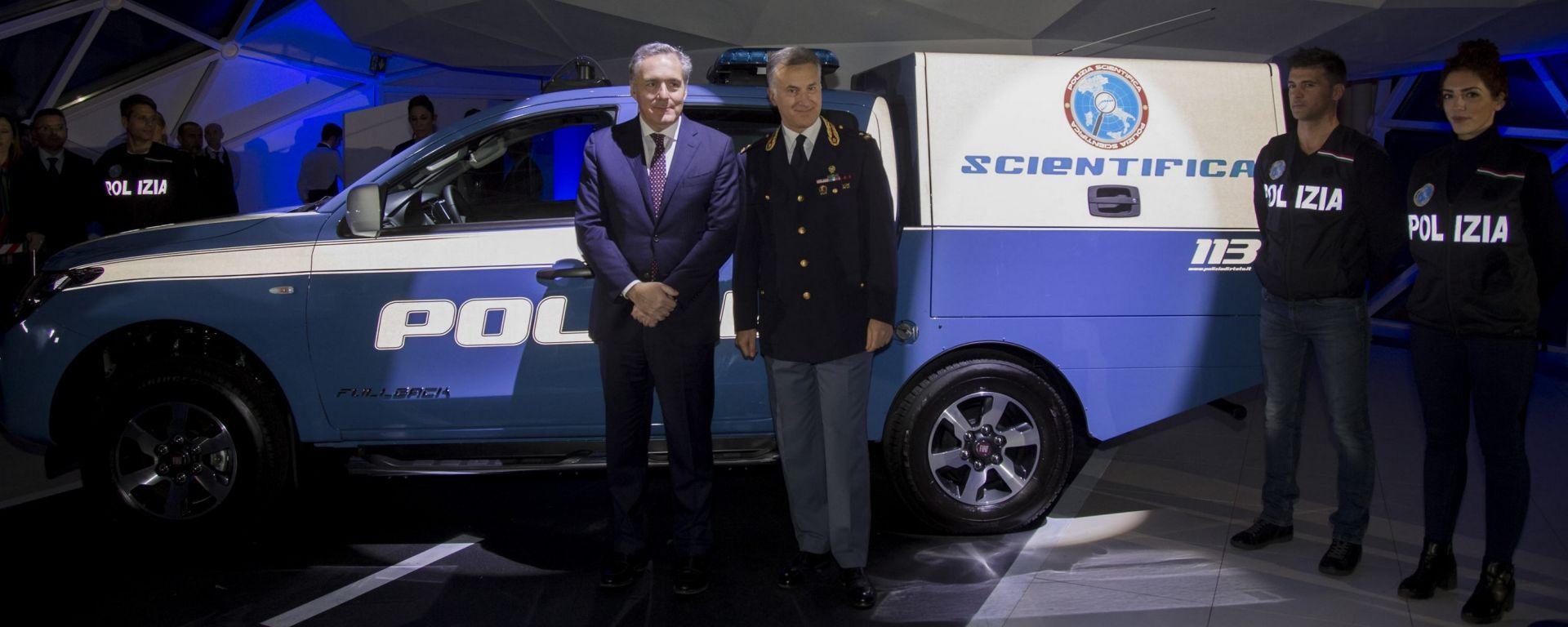 Fiat Fullback: una flotta al servizio della Polizia Scientifica
