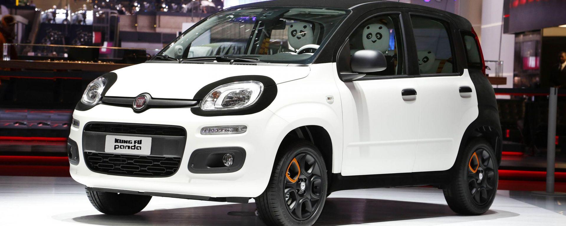 Fiat Kung Fu Panda, one-off a scopi benefici