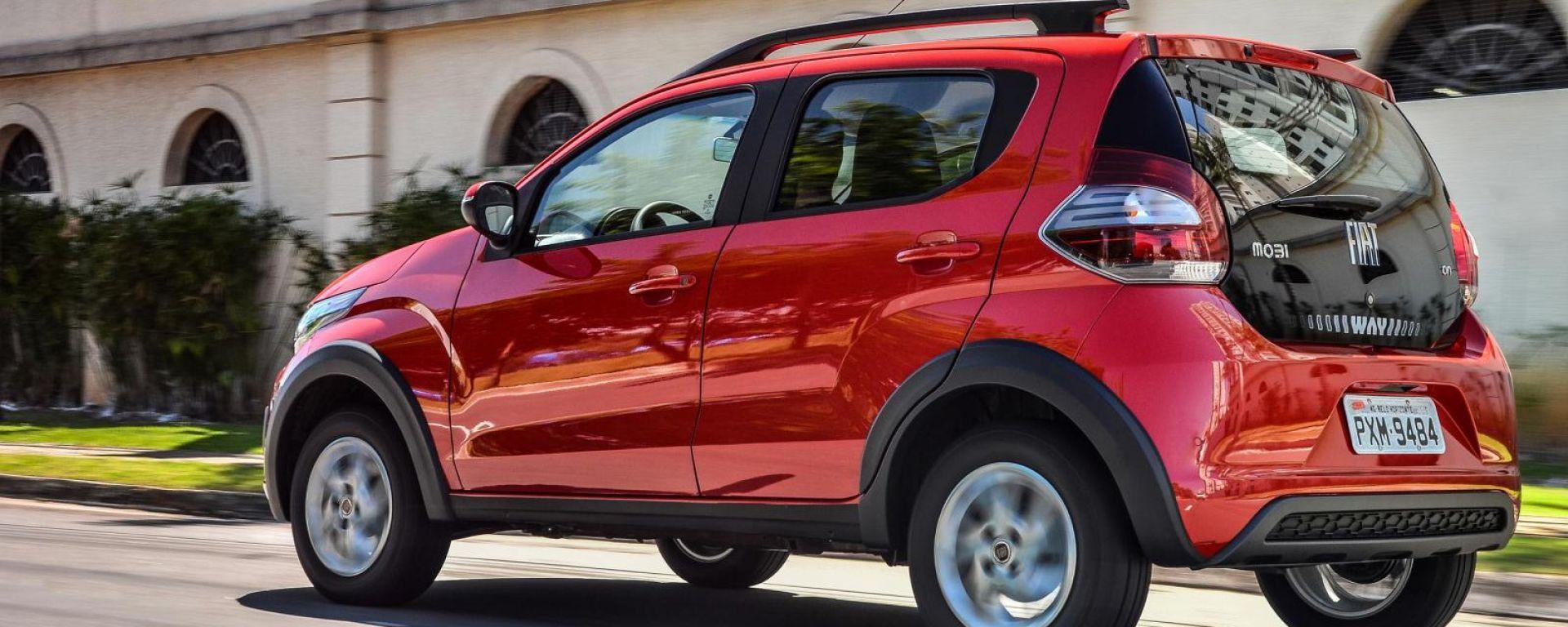 Fiat Mobi: la nuova citycar del Lingotto in Brasile