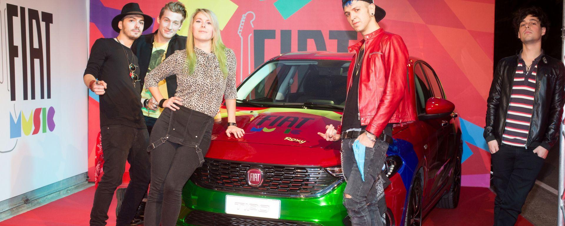 """Fiat Music: il gruppo musicale """"Volume"""""""