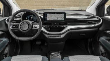 Fiat Nuova 500e Cabrio Icon, gli interni