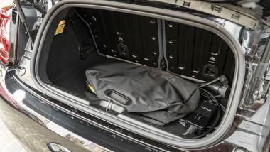 Fiat Nuova 500e Cabrio Icon, il bagagliaio