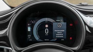 Fiat Nuova 500e Cabrio Icon, il quadro strumenti digitale