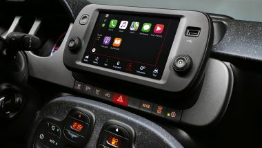 Fiat Panda 2021, nuovo display touchscreen da 7 pollici