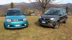 Fiat Panda 4x4 Cross vs Suzuki Ignis 4x4 ibrida [VIDEO] - Immagine: 18