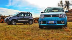 Fiat Panda 4x4 Cross vs Suzuki Ignis 4x4 ibrida [VIDEO] - Immagine: 1