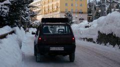 Fiat Panda 4x4 Showtime è stata realizzata dal preparatore elvetico Kessel
