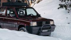Fiat Panda 4x4 Showtime: il bull bar anteriore