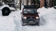 Fiat Panda 4x4 Showtime: il frontale