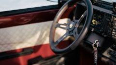 Fiat Panda 4x4 Showtime: il posto di guida