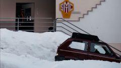 Fiat Panda 4x4 Showtime: si noti il portapacchi