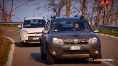 Fiat Panda 4x4 vs Dacia Duster 4WD  - Immagine: 3