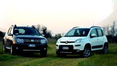 Fiat Panda 4x4 vs Dacia Duster 4WD  - Immagine: 1