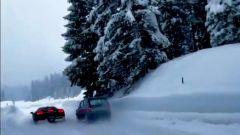 Fiat Panda 4x4 vs Ferrari SF90 Stradale: 48 CV e trazione integrale contro 1.000 CV ed elettronica al top
