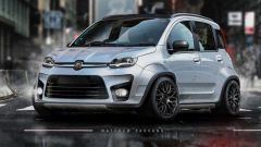 Fiat Panda Abarth, spazio all'immaginazione