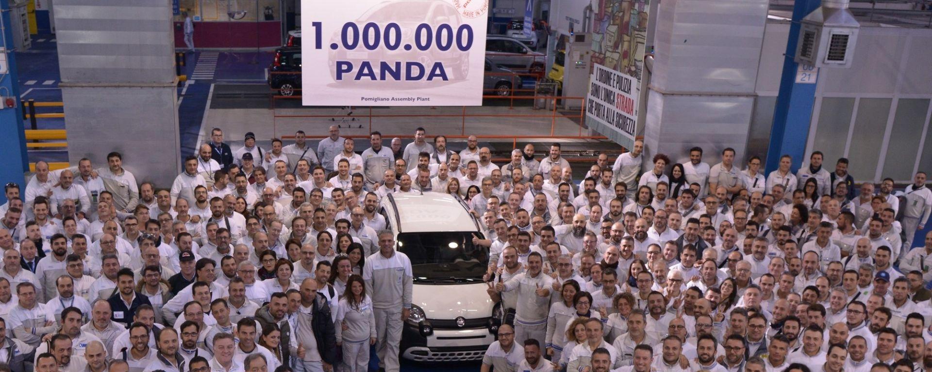 Fiat Panda, da Pomigliano il milionesimo esemplare
