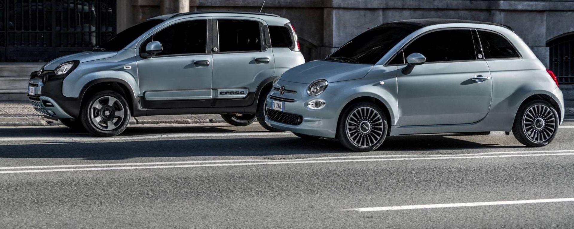 Fiat Panda e 500 Hybrid