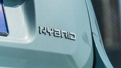 Fiat Panda Hybrid City Cross: il logo sul portellone posteriore
