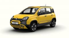 Fiat Panda Hybrid City Cross: la nuova versione vista di 3/4 davanti
