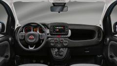 Fiat Panda Hybrid City Cross: l'abitacolo della nuova citycar ibrida Fiat