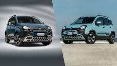 Vecchio contro nuovo: al volante di Fiat Panda Hybrid City Cross - Immagine: 1