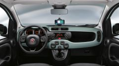 Fiat Panda Hybrid: la plancia