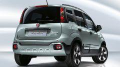 Fiat Panda Hybrid: vista di 3/4 posteriore
