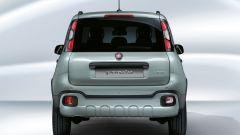 Fiat Panda Hybrid: vista posteriore