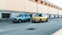 Fiat Panda Hybrid vs Suzuki Ignis Hybrid: colorazioni vivaci per le concorrenti del contest