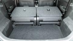 Fiat Panda Hybrid vs Suzuki Ignis Hybrid: con lo schienale reclinato si forma un fastidioso gradino come sulla Panda