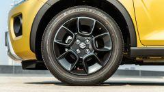 Fiat Panda Hybrid vs Suzuki Ignis Hybrid: i cerchi della Ignis sono in lega leggera da 16