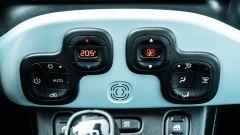 Fiat Panda Hybrid vs Suzuki Ignis Hybrid: i comandi del climatizzatore automatico di Panda