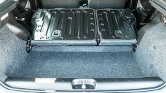 Fiat Panda Hybrid vs Suzuki Ignis Hybrid: il baule con lo schienale ribaltato.