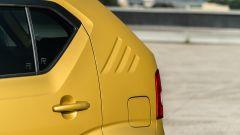 Fiat Panda Hybrid vs Suzuki Ignis Hybrid: il terzo montante è piuttosto massiccio ma caratterizza il look della Ignis