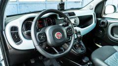 Fiat Panda Hybrid vs Suzuki Ignis Hybrid: l'abitacolo dell'italiana non cambia da un po' di tempo