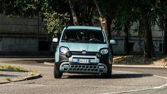 Fiat Panda Hybrid vs Suzuki Ignis Hybrid: le sospensioni morbide causano un po' di rollìo in curva