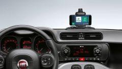 Fiat Panda: il vostro smartphone fissato sulla plancia completa l'infotainment