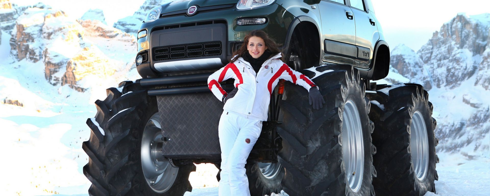 Fiat Panda Monster Truck, nuove immagini