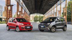 Fiat Panda m.y. 2017: la versione normale al fianco della versione Cross