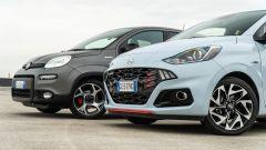 Fiat Panda Sport e Hyundai i10 N Line
