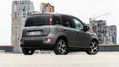 Fiat Panda Sport Hybrid: 3/4 posteriore