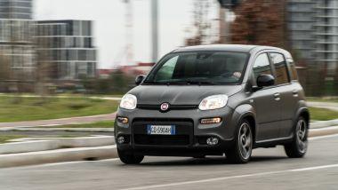 Fiat Panda Sport Hybrid per il centro di Milano