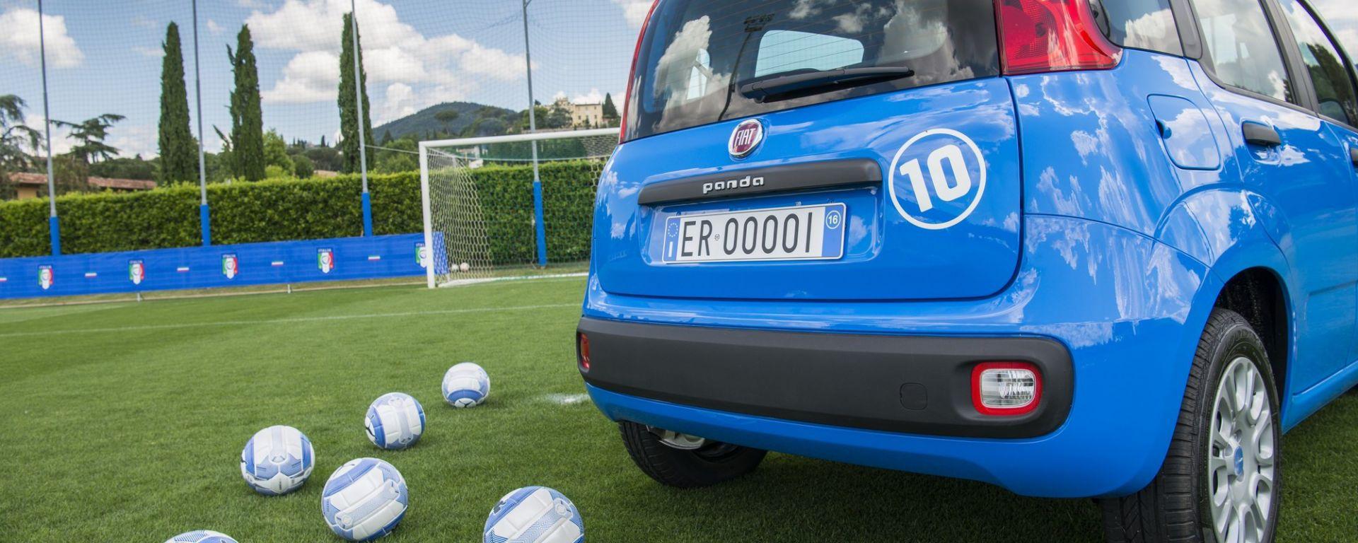 Fiat Pandazzurri, la Panda della Nazionale di calcio