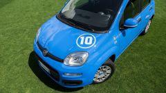 Fiat Pandazzurri: si può personalizzare con il numero di gioco, 1, 10 o 21