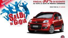 Fiat: 30% di sconto sulle auto in pronta consegna
