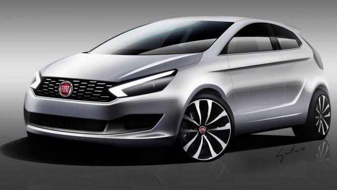 Fiat Punto 2019, solo una idea ?