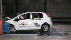 Nuovi test EuroNCAP: zero stelle per la Fiat Punto 2017