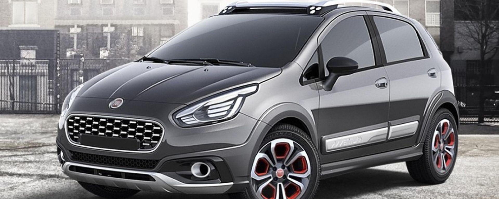Concept: Fiat Punto Urban Cross - MotorBox on fiat 500l, fiat marea, fiat panda, fiat ritmo, fiat 500 turbo, fiat linea, fiat spider, fiat cinquecento, fiat 500 abarth, fiat seicento, fiat stilo, fiat x1/9, fiat coupe, fiat barchetta, fiat multipla, fiat cars, fiat doblo, fiat bravo,