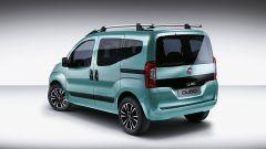 Fiat Qubo restyling: anche il portellone ha subito delle leggere modifiche